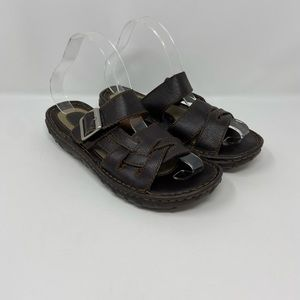 Great Northwest Woodstock Leather Sandals Womens 7